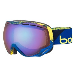 Ochelari ski Bolle EMPEROR Blue and Yellow Zenith